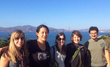 Postdoctoral Fellows at Land's End, SF