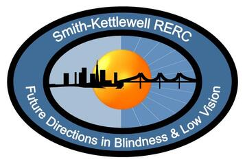 Logo: Smith-Kettlewell RERC -- Future Directions in Blindness and Low Vision